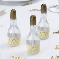 Contemporary Heart Bubbles - Ivory & Gold (24)